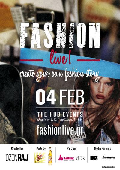 Ozon Fashion Live Poster