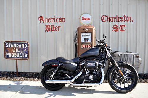 2010 Harley Davidson 883 Iron