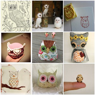 Friday Funspiration: handmade owls!
