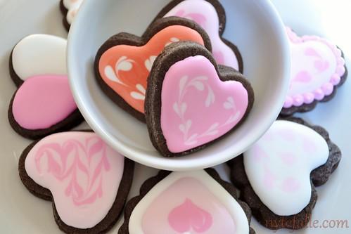 2012-01-19 Valentine Cookies 04