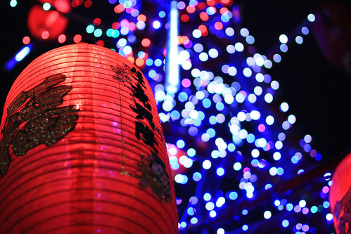 紅燈籠 - 生意興隆、福至春來 - Chinese New Year in Taiwan