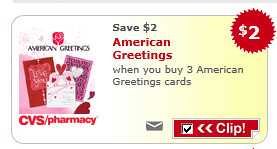 American Greetings Cards Coupon