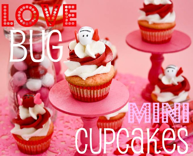 Love Bug Mini Cupcakes Confessions Of A Cookbook Queen - Bug cupcake decorating ideas