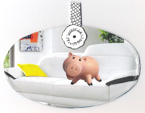 Mail-art cochon