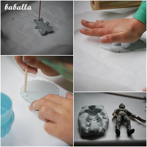 Pasta de modelar y hombres manualidades con ni os baballa - Pasta para modelar manualidades ...