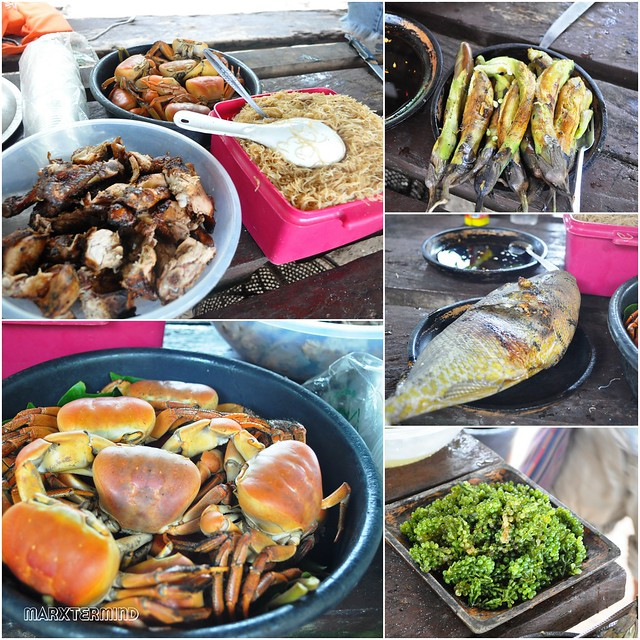 Lunch at Sta. Cruz Island