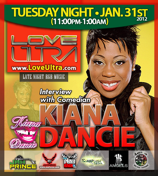 Love Ultra Radio Kiana Dancie Interview