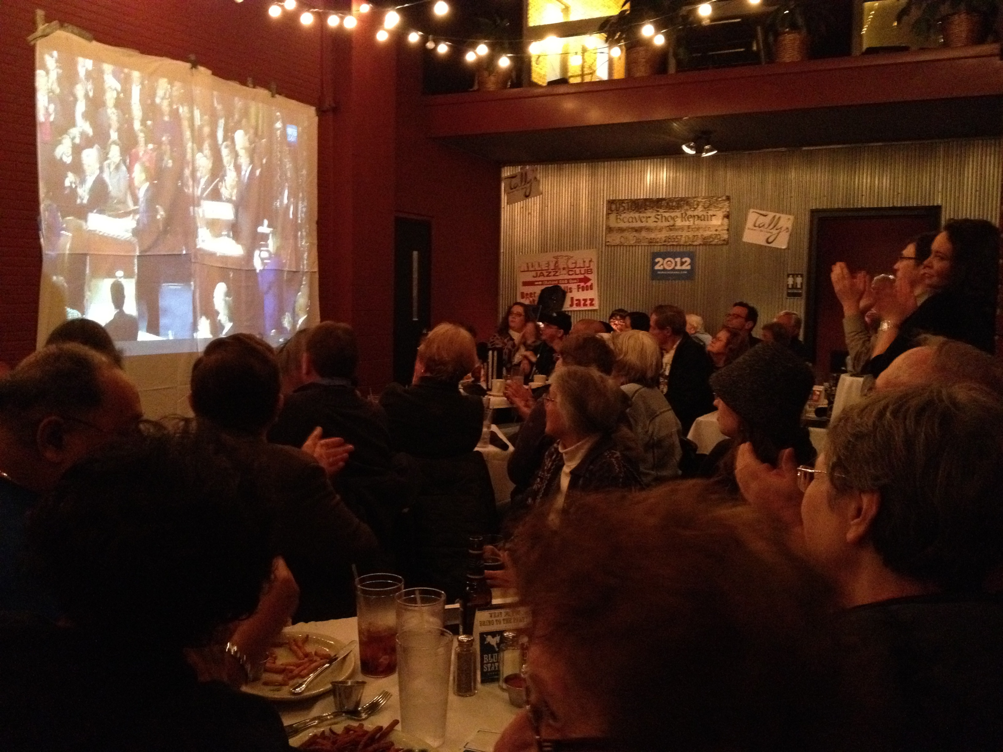 Beaverdale SOTU Party - Cheers for POTUS
