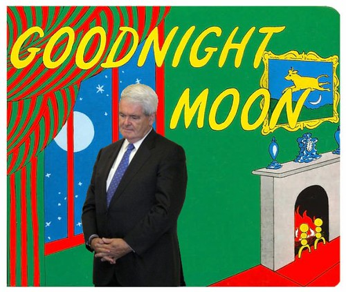 Forget Ukraine, Now Newt is Really Shook Up