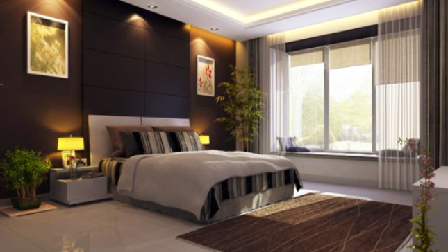 Bay Window & Bedroom in The Crown Greens, Hinjewadi Phase 2