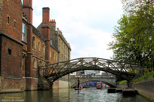 River Cam-Mathematical Bridge