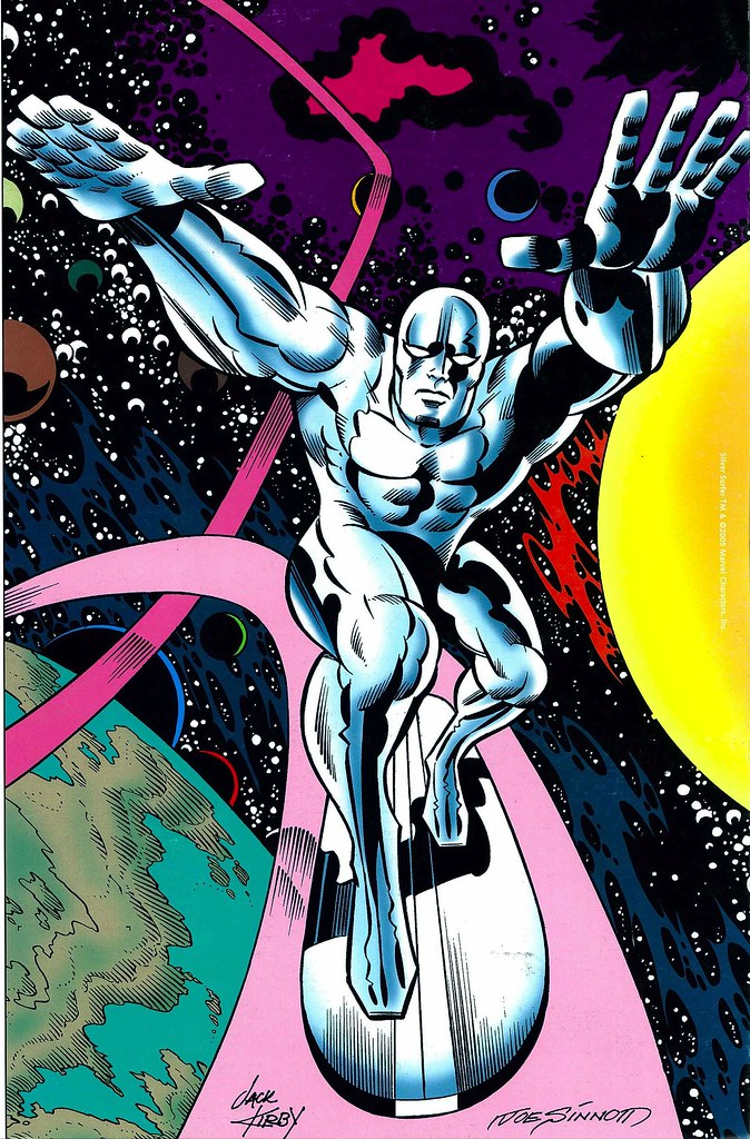 Silver Surfer by Jack Kirby and Joe Sinnott for JK Collector 43 2005