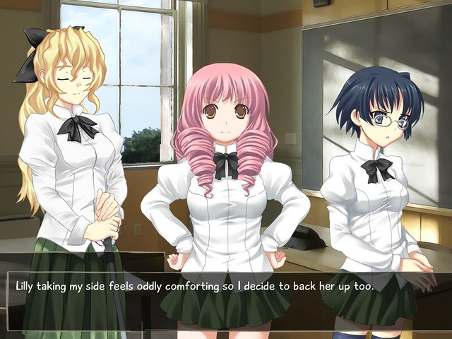 Katawa Shoujo, by Four Leaf Studios