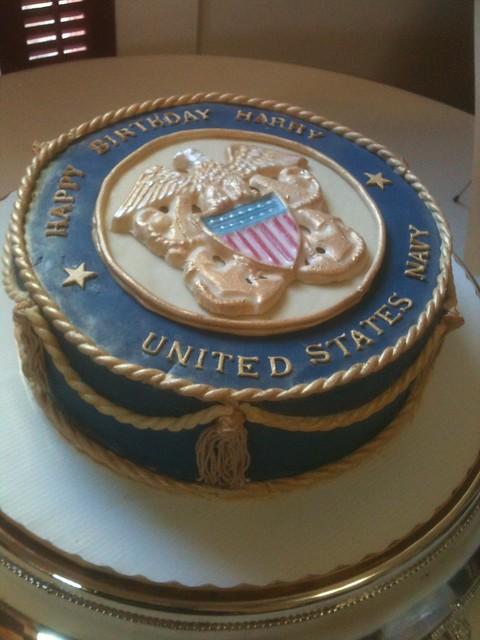 Corpsman Birthday Cake