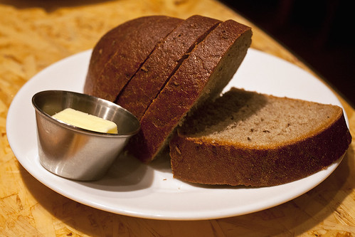 Caraway rye bread & butter
