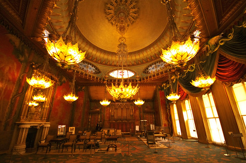 The Music Room at the Royal Pavilion