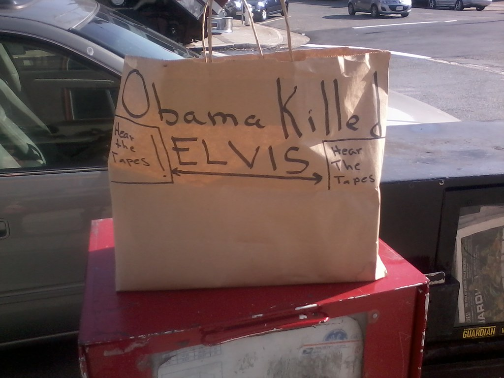 Obama Killed Elvis: Hear The Tapes