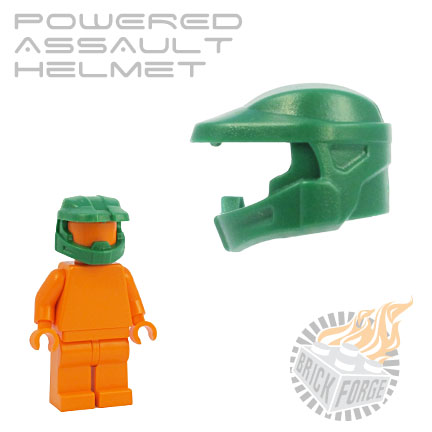 Powered Assault Helmet - Green