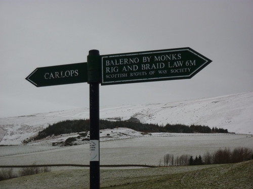Pentlands January 2012