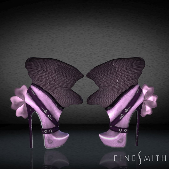 FINESMITH CANDYBIRD BOOTS pink