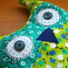 Owl cafetiere cosy
