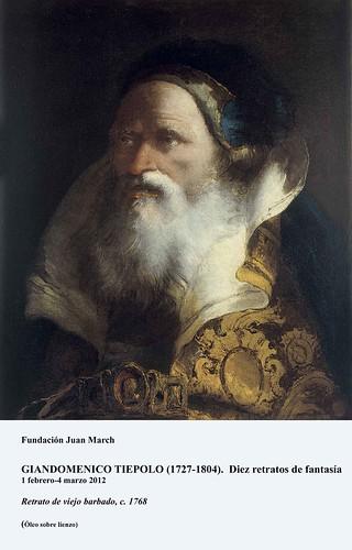 Retrato de viejo barbado, c.1768