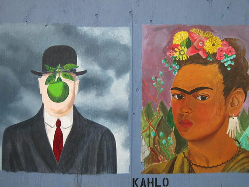 Day 26.  Magritte versus Kahlo.