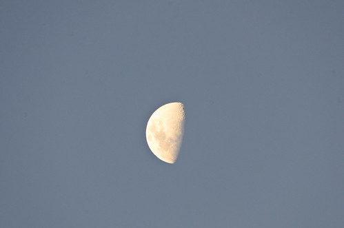 The Moon - 500mm Test Shot