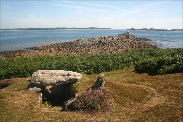 Burial chamber, St Marys, Isles of Scilly