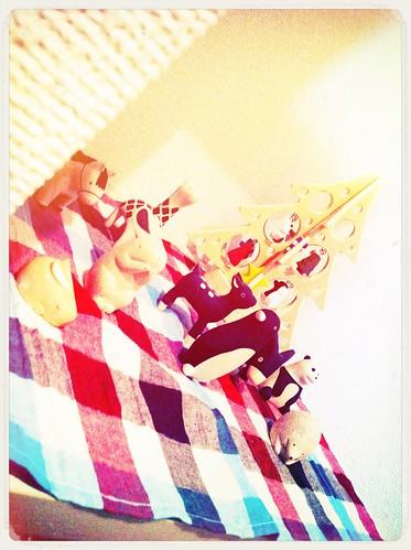 我が家のぽれぽれ動物 #analogcolor