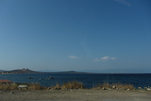 Burhaniye day 2 (Ayvalik): sea on drive back (1)