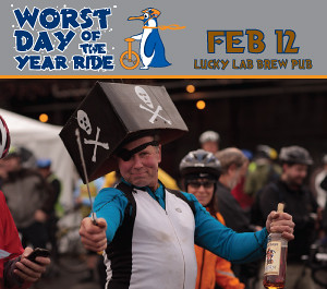 Portland Worst Day Of The Year Ride