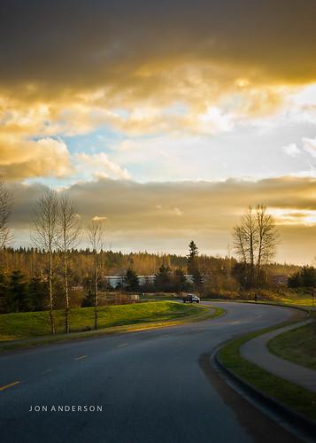 street sunset sky clouds arlington rural washington pacific northwest sony wa alpha maxxum 850 a minolta50mmf17