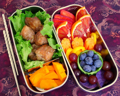 Thrown-Together Bento by sherimiya ♥