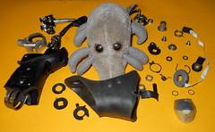 Dust Mite & brifter parts