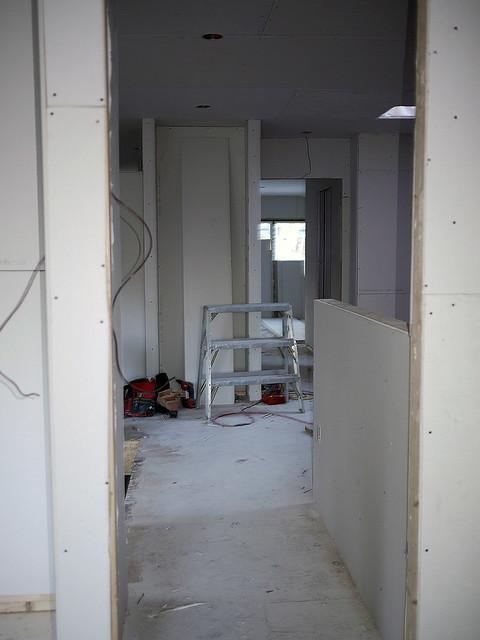 Hall looking toward bedroom