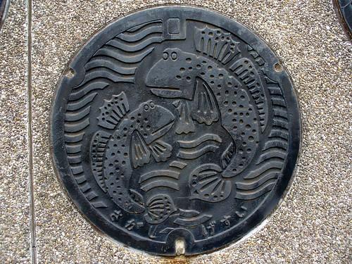 Saga Saga pref manhole cover (佐賀県佐賀市のマンホール)