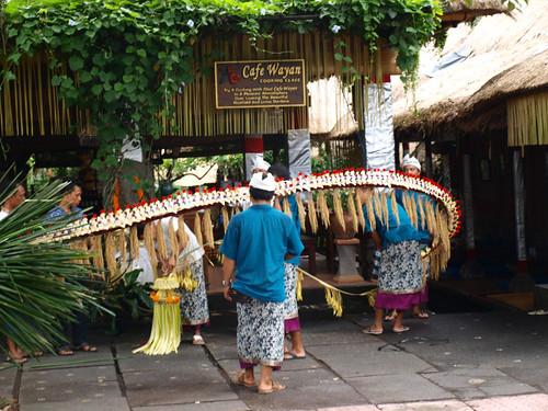 бали, подготовка к празднику