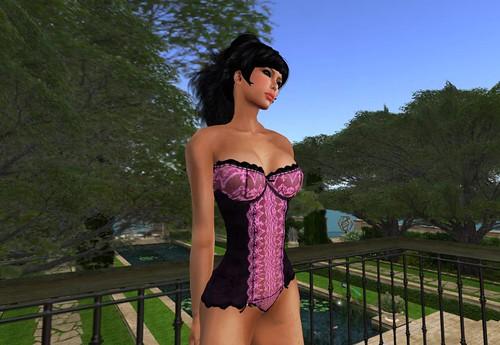 tribe GroupGift - Velvet Corset Pink by Cherokeeh Asteria