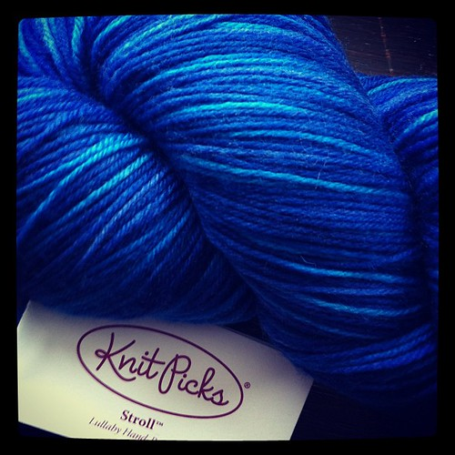 Knit Picks Stroll Hand Painted in 'Lullaby'