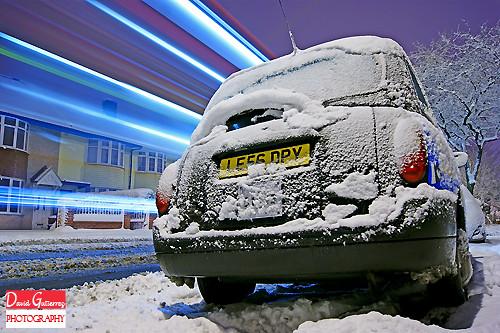 Snow in London by david gutierrez [ www.davidgutierrez.co.uk ]