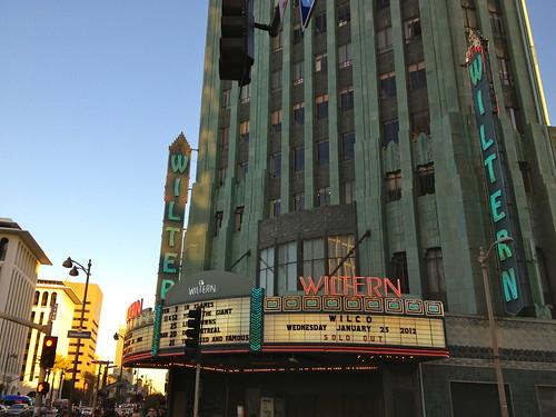 Wiltern marquee, Wilco