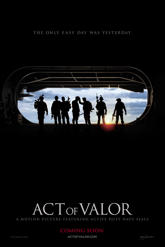 Act of Valor, Official Movie Poster