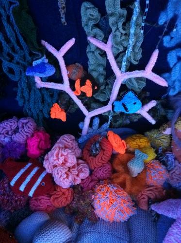 Yarn coral reef