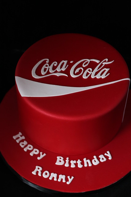 Coca Cola cake | Flickr - Photo Sharing!