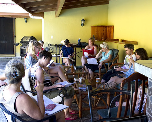 Writing workshop in Costa Rica (photo: Rick Brazeau) | by Endymion Studios