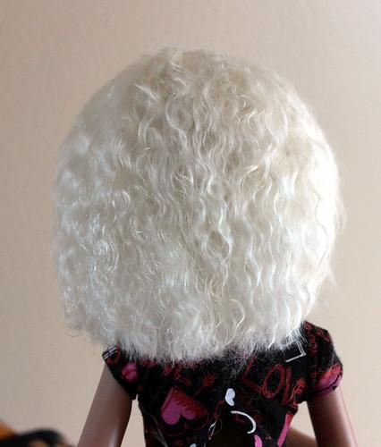 Handmade wig, back