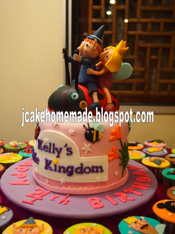 Ben And Holly S Little Kingdom Birthday Cake A Photo On Flickriver
