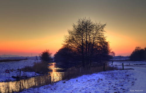 Cold Sunset - HDR