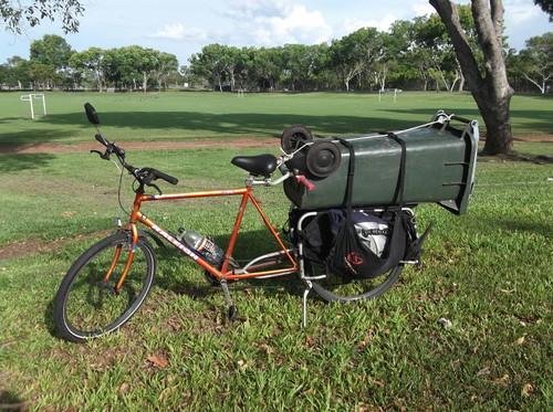 dumpster bike...
